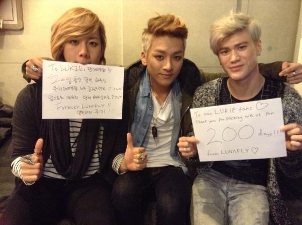 130414 officialLUNAFLY 200 hari debut