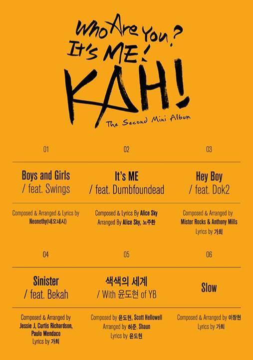 Tracklist Who Are You?