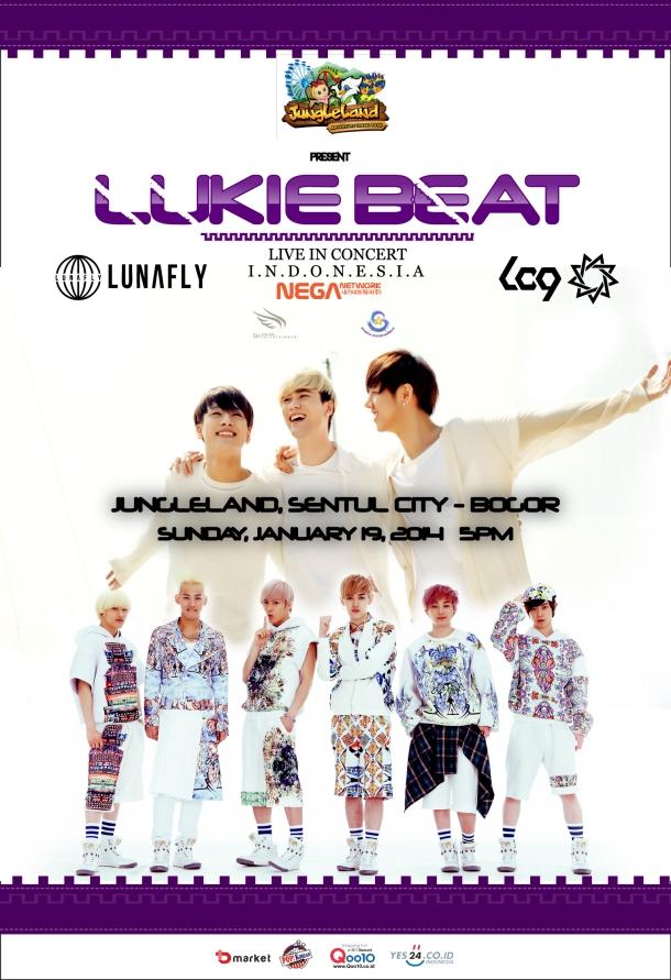 Poster LUKIE BEAT