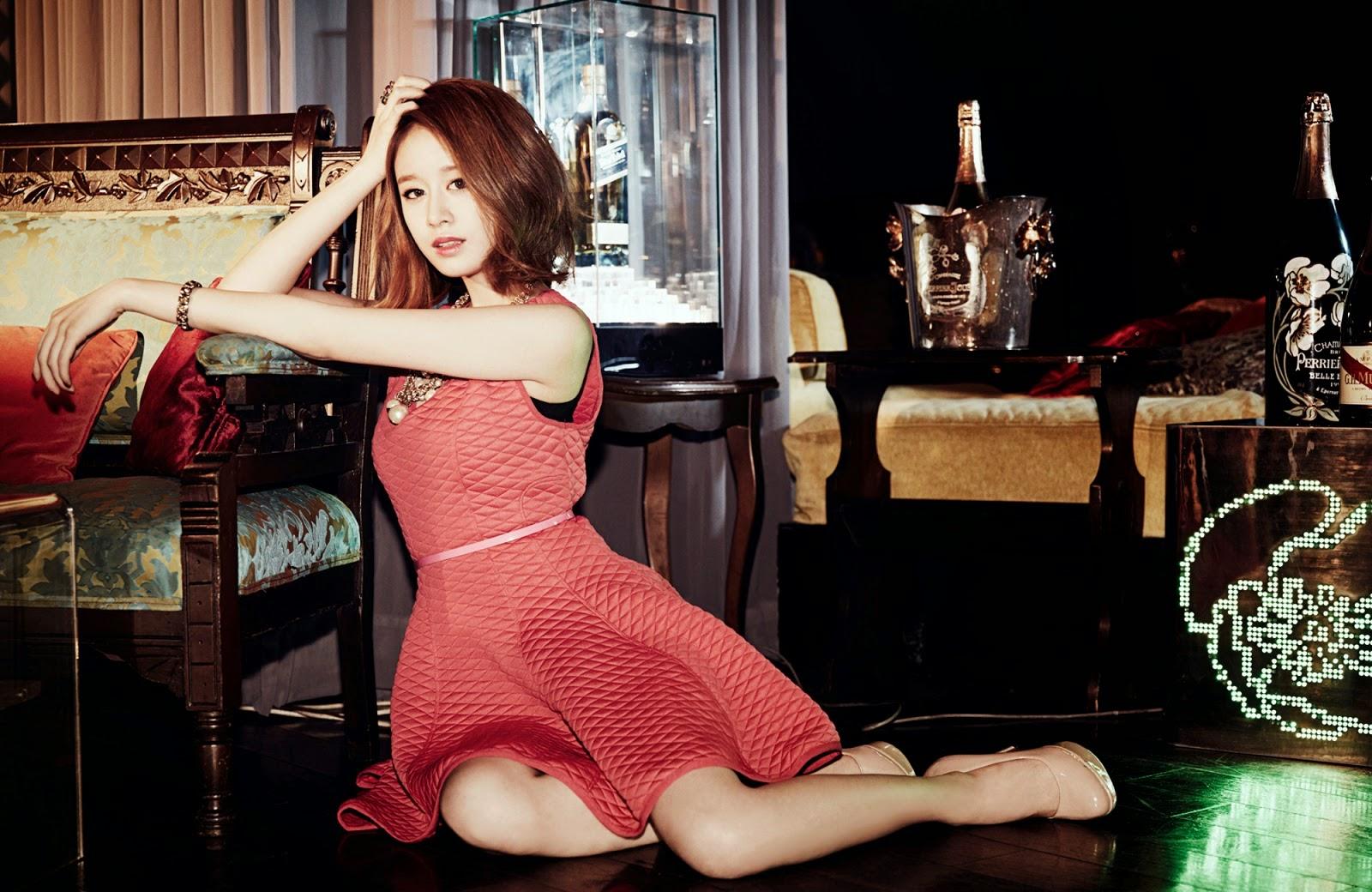 ara merilis foto foto konsep untuk album jepang ke 3 gossip girls