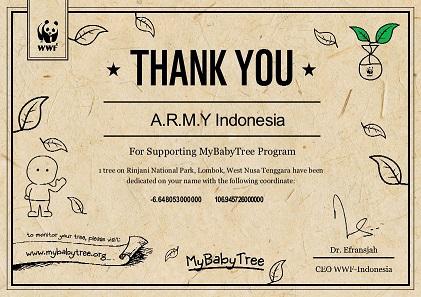 E-Certificate ARMY Indonesia01-00 – Korean Wave Indonesia