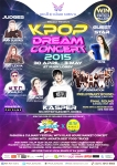 Kpop Dream Concert 2015 Flyer A5