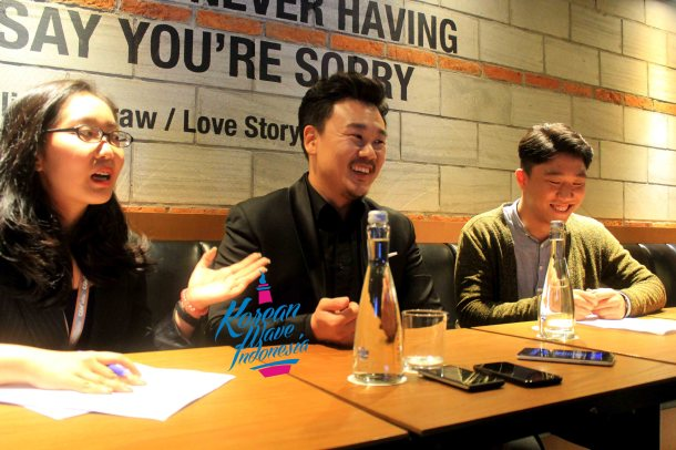 Kim In Kwon with Interpreters_Interview KIFF 2016