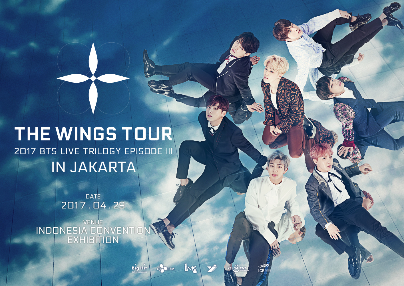 Bts Wings Tour In Indonesia