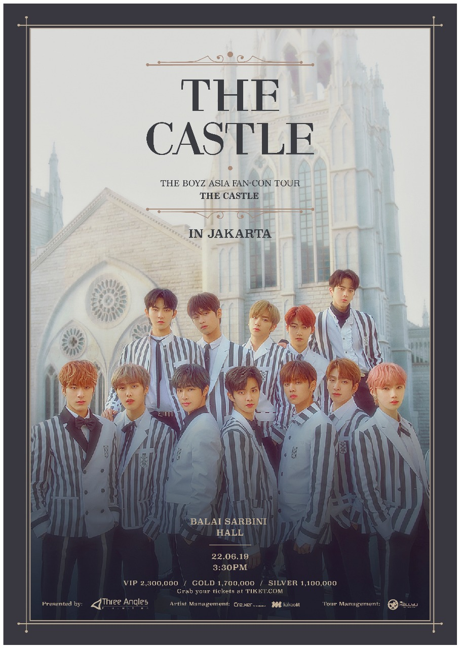 Image result for THE BOYZ ASIA FAN CON [THE CASTLE] IN JAKARTA - 2019