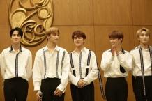 Photo 3. The Boyz merupakan salah satu boyband asal Korea papan atas yang turut tampil di Super K-Pop Festival 2019 (29_09_2019)